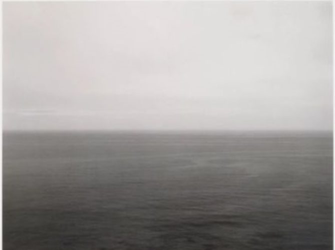 Time Exposed: #302, Pacific Ocean, Iwate, 1986 by Hiroshi Sugimoto at