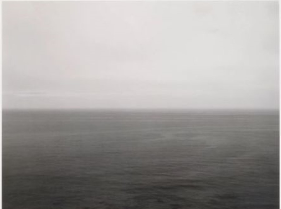 Time Exposed: #302, Pacific Ocean, Iwate, 1986 by Hiroshi Sugimoto
