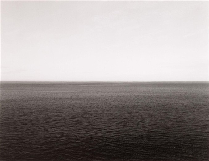 Time Exposed: #335 Norwegian Sea Vesteralen Island 1990 by Hiroshi Sugimoto