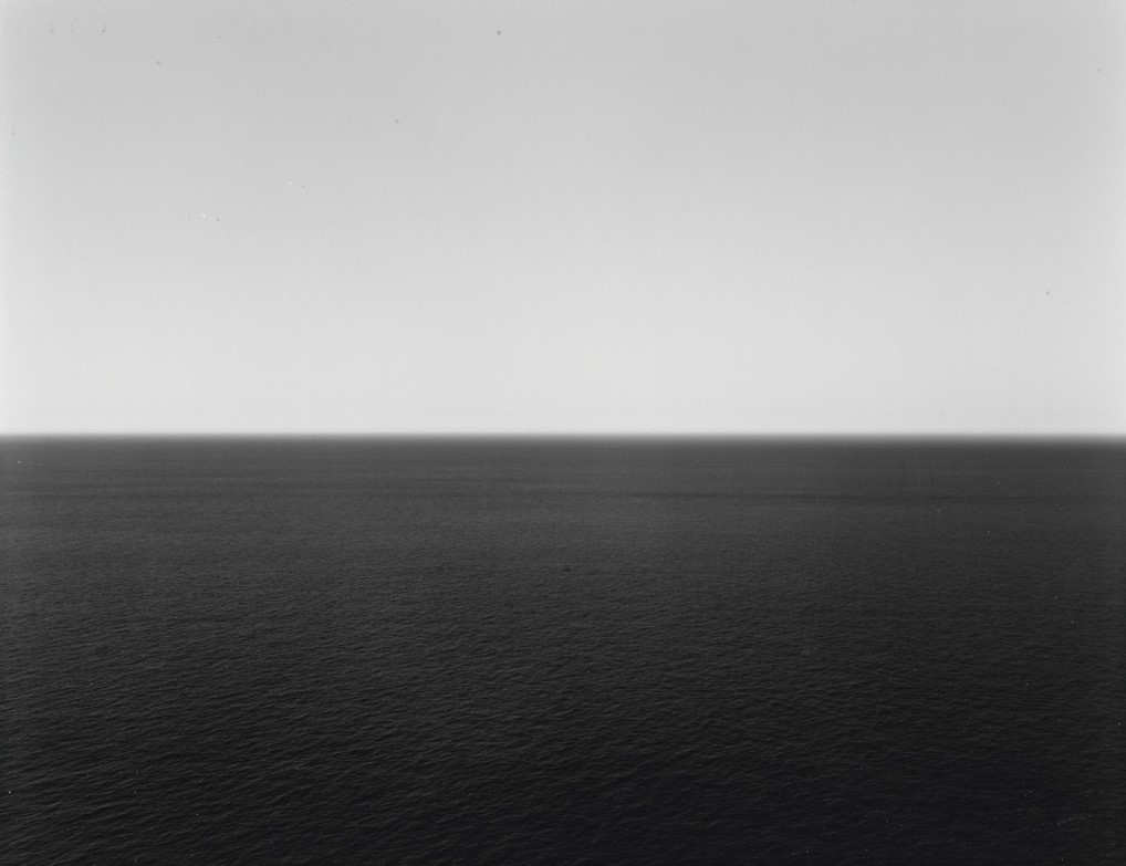 Time Exposed: #339 Tyrrhenian Sea Positano 1990 by Hiroshi Sugimoto