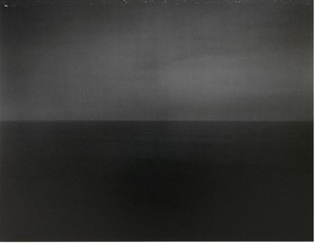 Time Exposed: #340 Tyrrhenian Sea Amalfi 1990 by Hiroshi Sugimoto