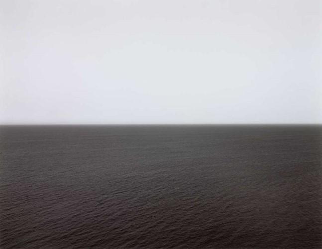 Time Exposed: #343 Ionian Sea Santa Cesarea 1990 by Hiroshi Sugimoto