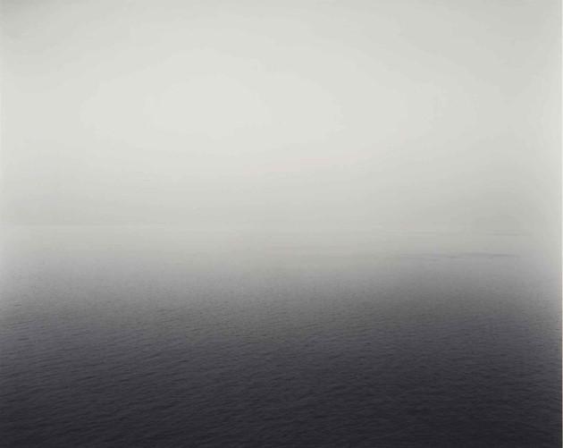 Time Exposed: #344 Ionian Sea Santa Cesarea 1990 by Hiroshi Sugimoto