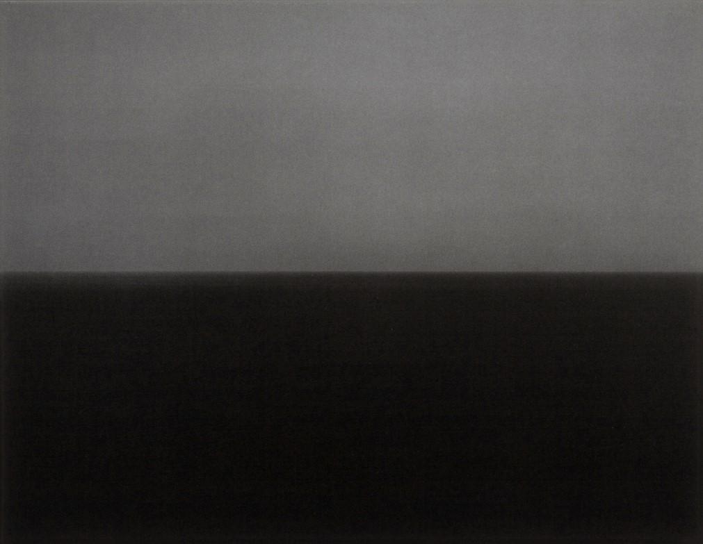 Time Exposed: #345 Ionian Sea Santa Cesarea 1990 by Hiroshi Sugimoto