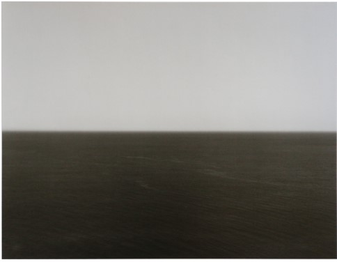 Time Exposed: #347 Mediterranean Sea Crete 1990 by Hiroshi Sugimoto