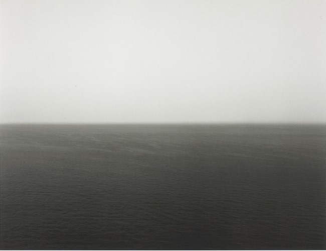 Time Exposed: #352 Miltoan Sea Sounion 1990 by Hiroshi Sugimoto