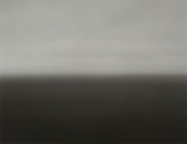 Time Exposed: #364 Bay Of Biscay Bakio 1991 by Hiroshi Sugimoto
