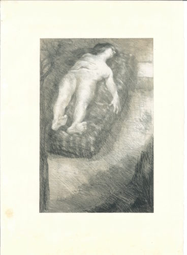 Après La Douleur by Alfred Roll at