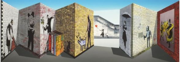 Banksee by Patrick Hughes