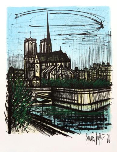 Notre Dame by Bernard Buffet at