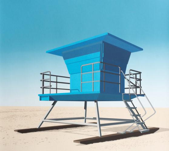Lookout, Huntington Beach, Ca by Daniel Rich