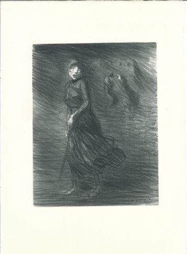Dans La Rue by Theophile-Alexandre Steinlen