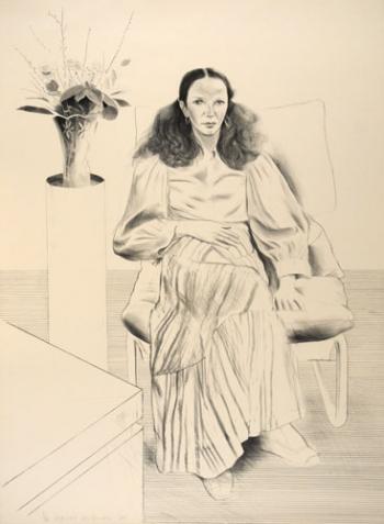Brooke Hopper by David Hockney