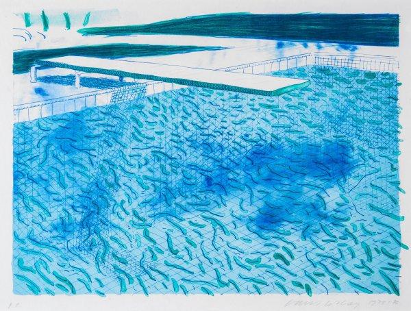 Swimming Pool by David Hockney