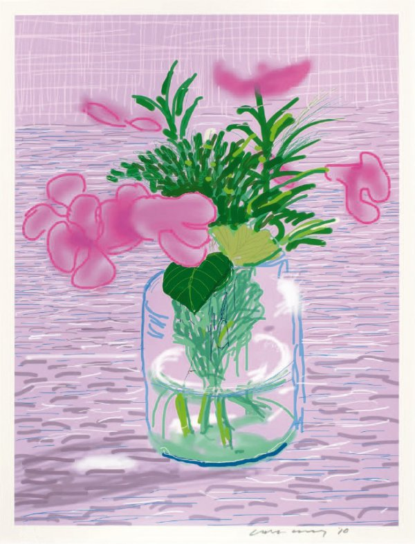 Ipad Drawing Untitled, 329 by David Hockney