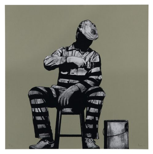 Prison Painter by DOLK at