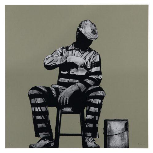 Prison Painter by DOLK