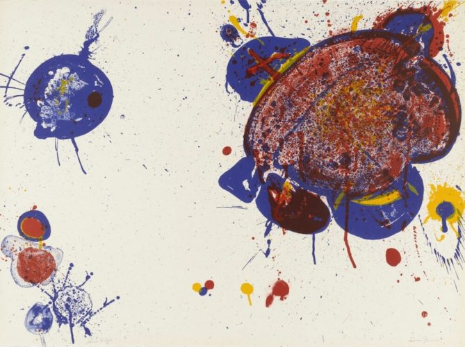 Another Disappearance by Sam Francis at