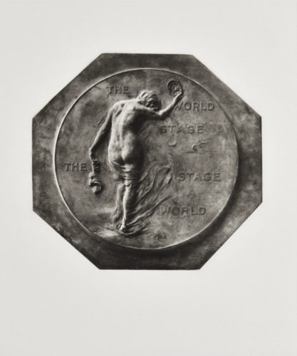 The Drama (medal For New Theater), New York by Gutzon Borglum