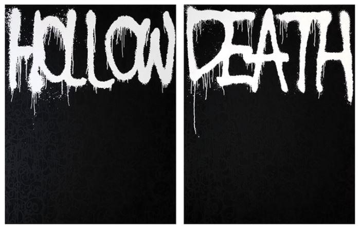 Hollow Black – Death Black by Takashi Murakami