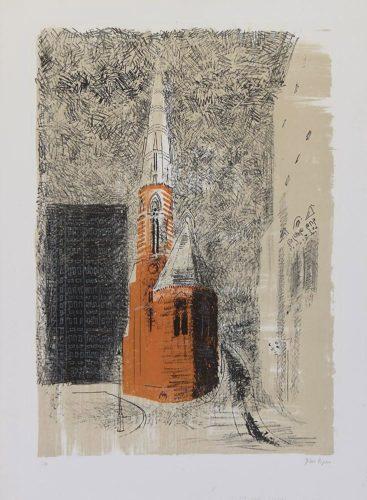 St Mary's Paddington by John Piper