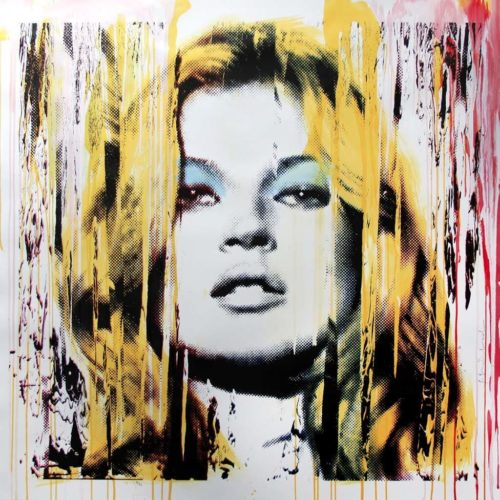 Kate Moss Pink by Mr. Brainwash at Mr. Brainwash