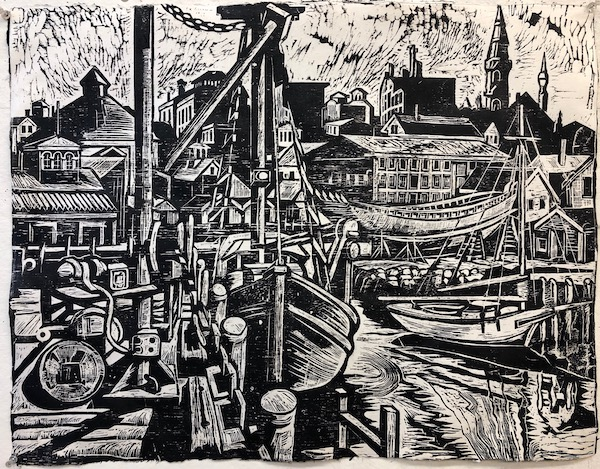 Maritime Trio by Don Gorvett