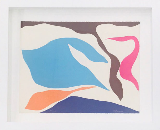 Untitled, From The Art In America Graphics 70 Suite by Ray Parker