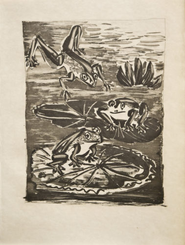 Les Grenouilles (the Frogs) by Pablo Picasso