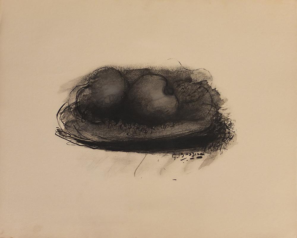 Les Pommes by Georges Braque