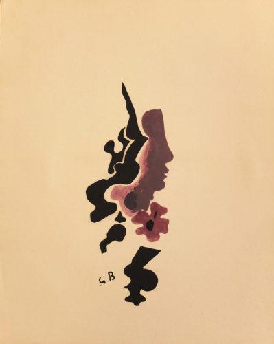 Profil by Georges Braque at