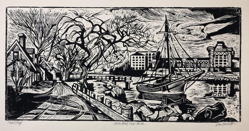 River Road, New Castle by Don Gorvett