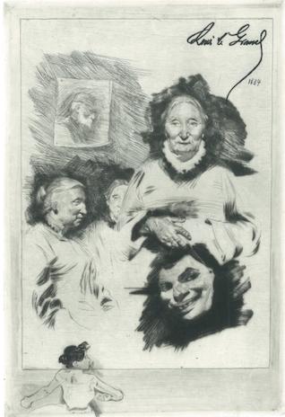 Épaves De Famille by Louis Legrand