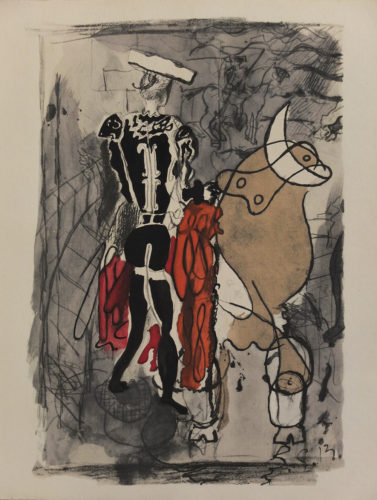 Torero by Georges Braque at