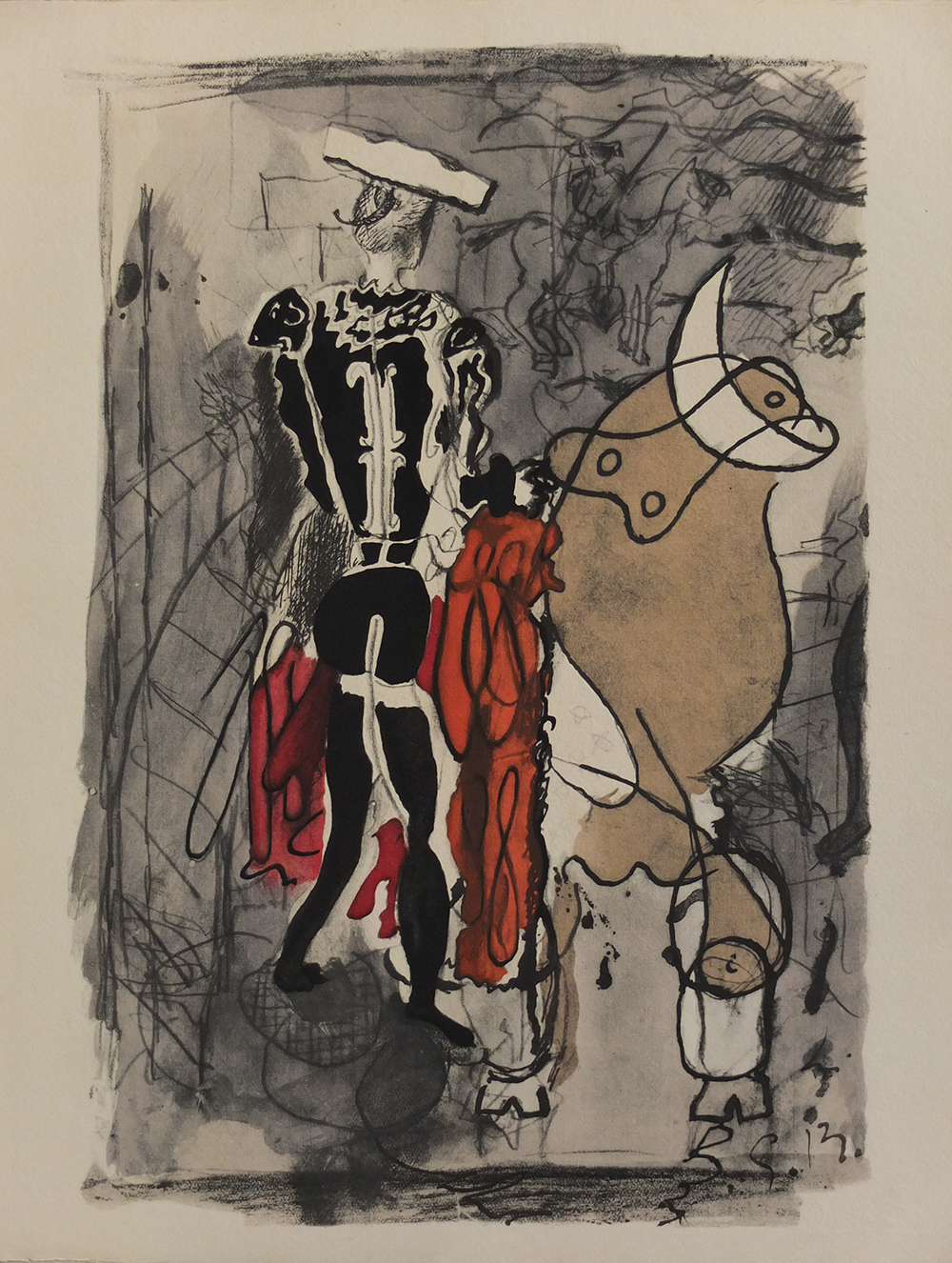 Torero by Georges Braque