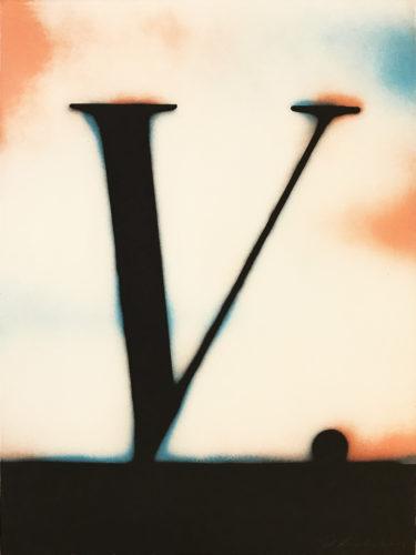 V. by Ed Ruscha at Ed Ruscha