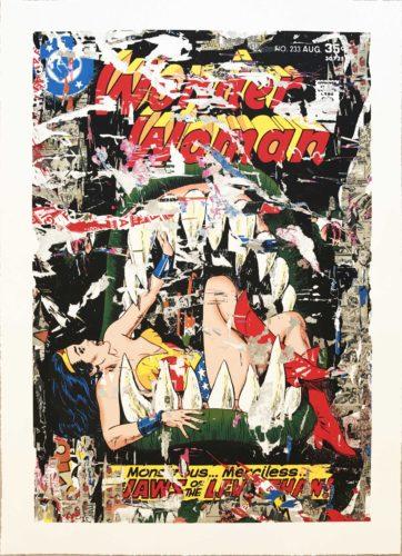 Wonder Woman by Mr. Brainwash
