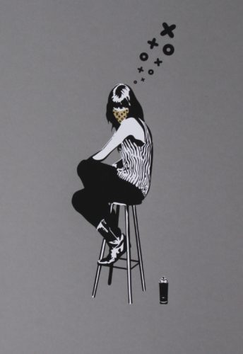 Sit Lady Gold by XooooX