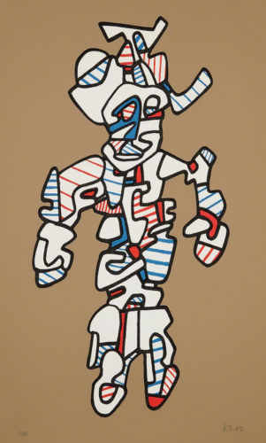 Le Surintendant by Jean Dubuffet at