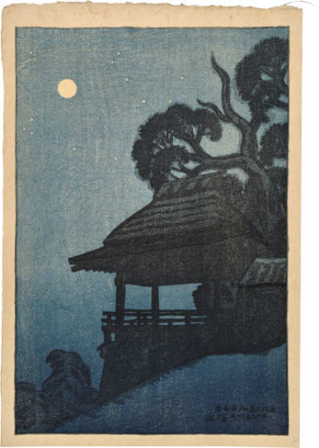Eight Views Of Omi: Ishiyamadera Temple by Ito Shinsui