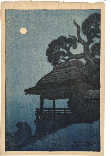 Eight Views Of Omi: Ishiyamadera Temple by Ito Shinsui
