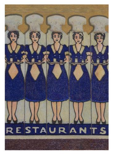 Waitresses by Aaron Kasmin at