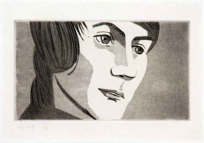 Timmie by Alex Katz at Alex Katz