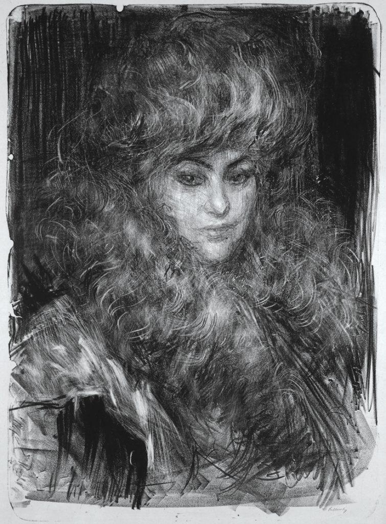 Le Boa, Alice Milbank By Albert Belleroche