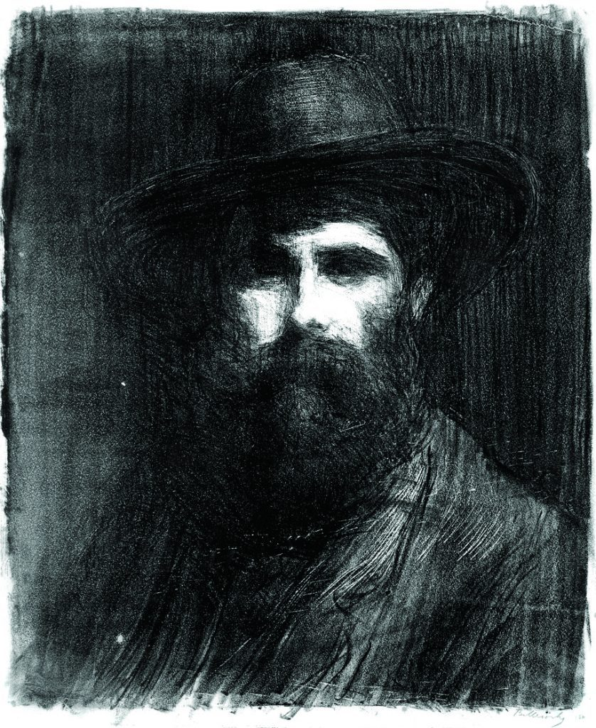 Ermenagildo Anglada-Camarosa (1871-1959), Painter By Albert Belleroche