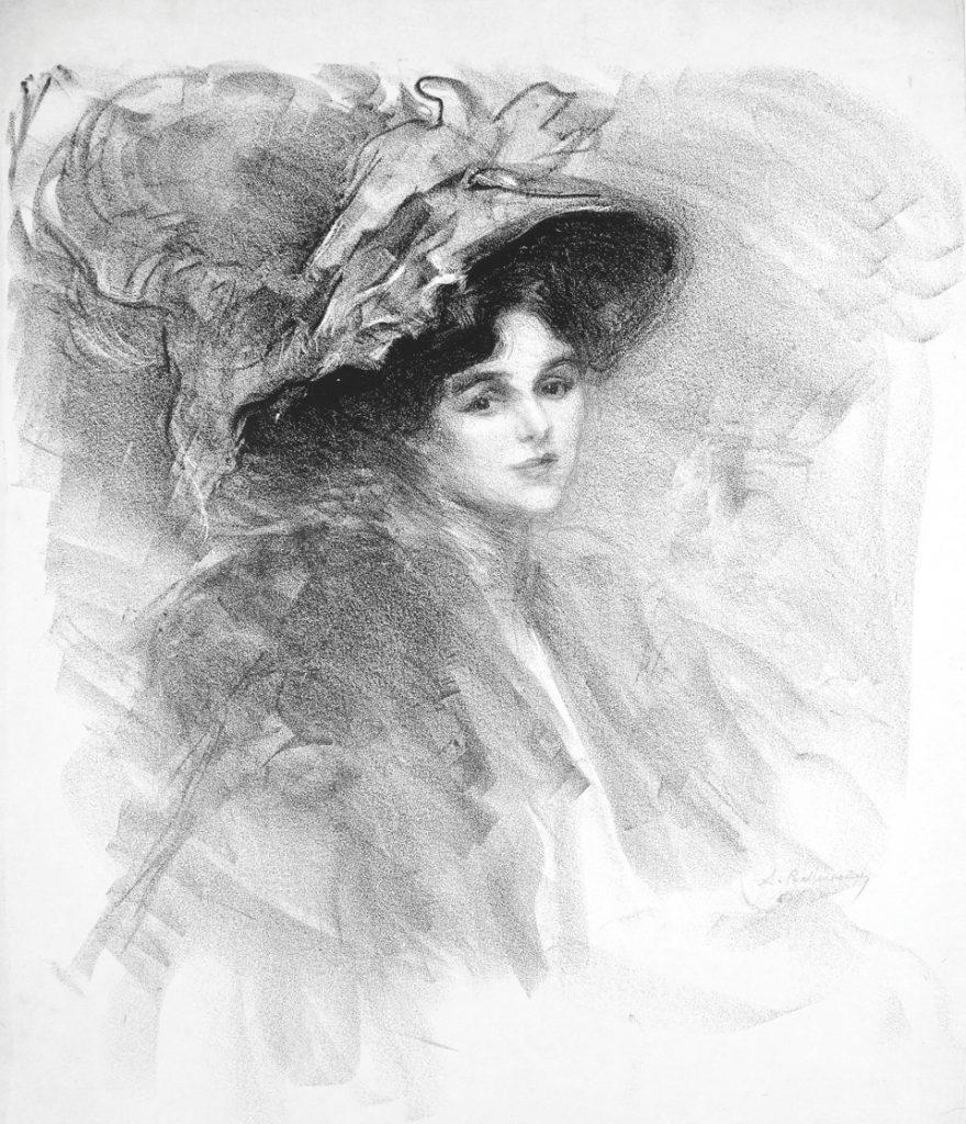 Parisiense, Madame Rosenthal By Albert Belleroche