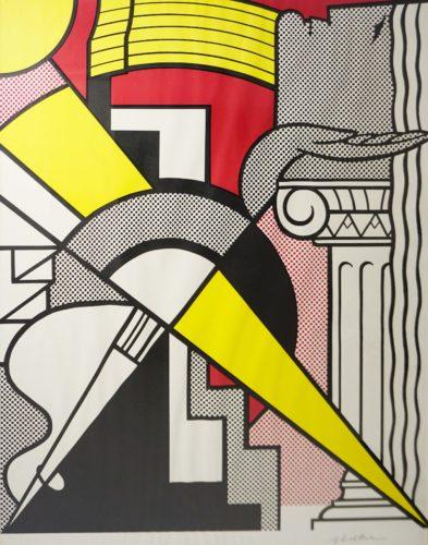 """Roy Lichtenstein """"stedelijk Museum"""" 1967 by Roy Lichtenstein"""