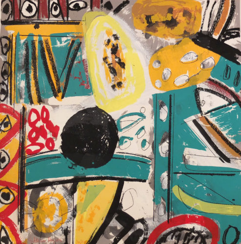 Ictis by Gillian Ayres