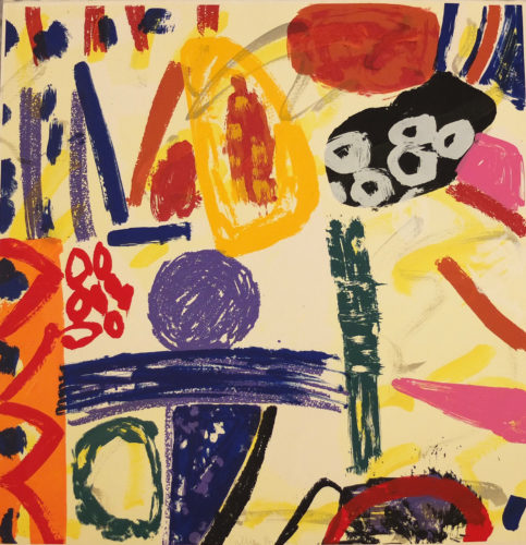 Much Is The Force Of A Heaven Bred Poesy by Gillian Ayres