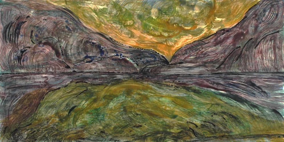 Every Breaking Wave #16 by Deborah Freedman at